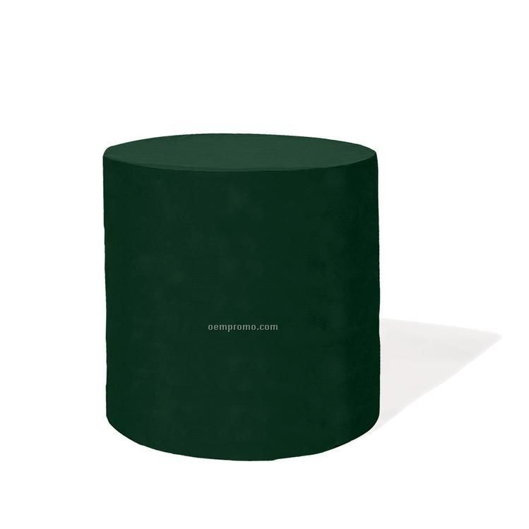 "Recycled Polyester Barrel Tablecloth - 30"" Round"
