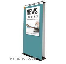 """30""""X80"""" Double Sided Banner Stand"""