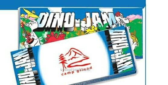 4 Pack Dino Theme Crayons (Imprinted)