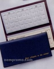 Bonded Leather Chek-keeper II Checkbook Cover