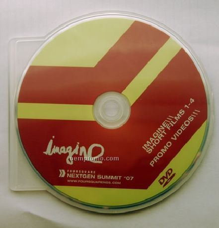 DVD Replication In Shell Case - C-shell (DVD 5)