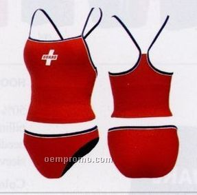 Female Tankini Swimsuit With Guard Screen (Top Only)