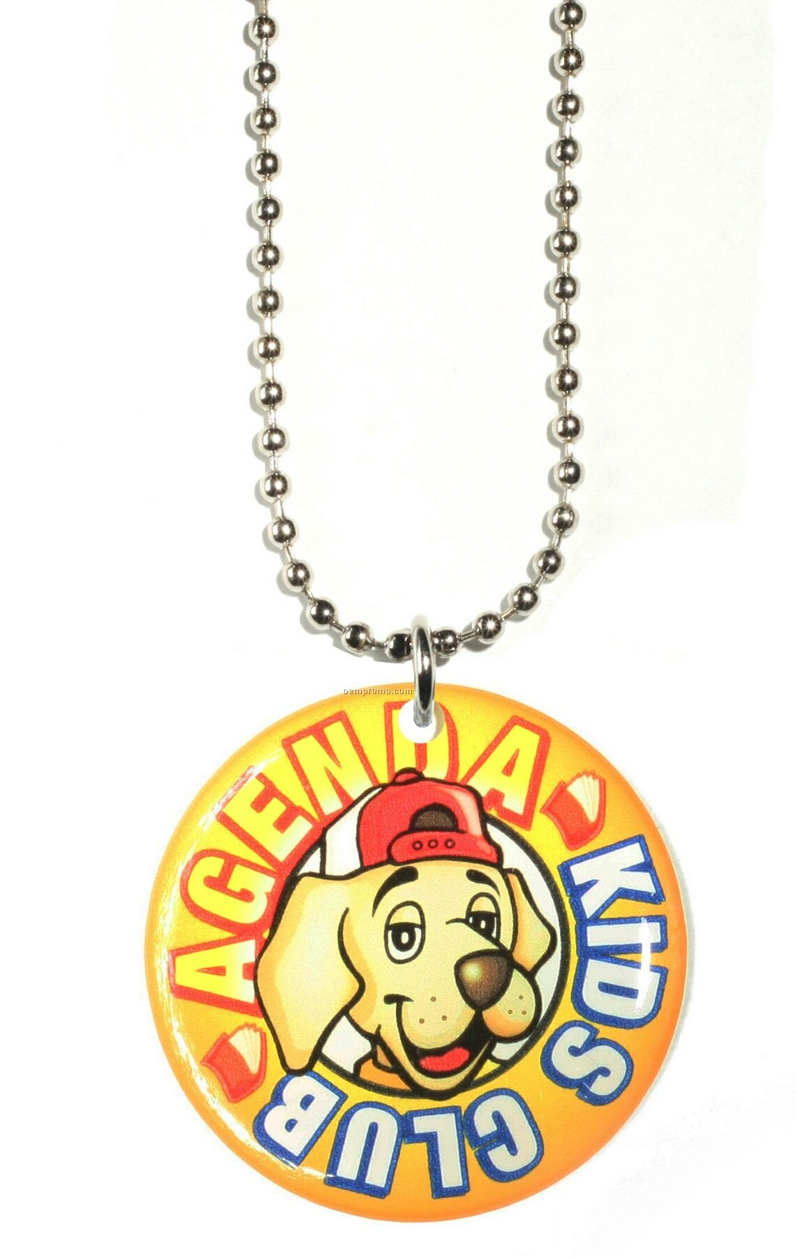 Pendants On Ball Chains (7.1 To 8 Sq. In.)