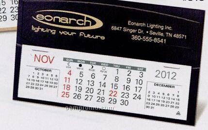 The Perry Warwick Premier Desk Calendar (After April)