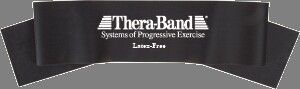Thera-band 3' Latex Free Exercise Band, Special Heavy