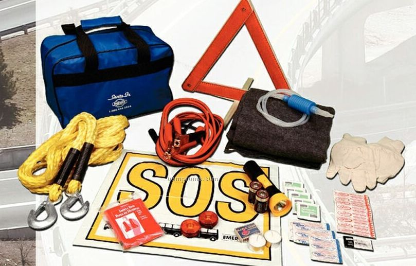 Extreme Road Hazard Kit In A Soft Pack Case