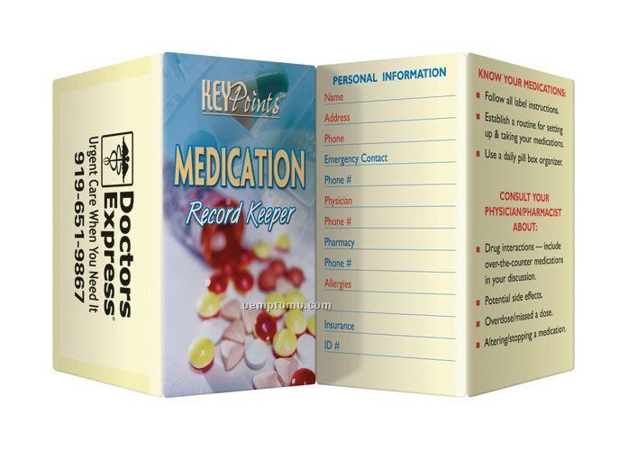 Key Point Brochure - Medication Record Keeper