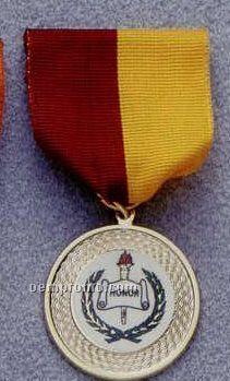 "7/8"" Kromafusion Medallion (Scholastic Line) With Drape"