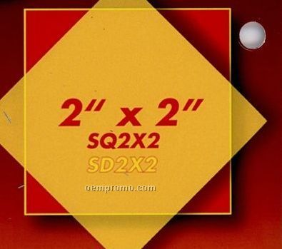 """Diamond Button (2""""X2"""")"""