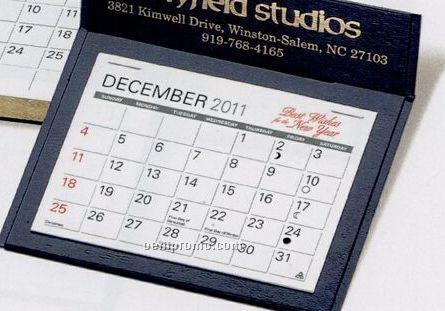 The Putnam Warwick Premier Desk Calendar (After April)