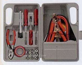 31 Piece Roadside Emergency Kit