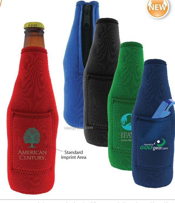 Pocket Stubby Bottle Cooler (Direct Import-10 Weeks Ocean)