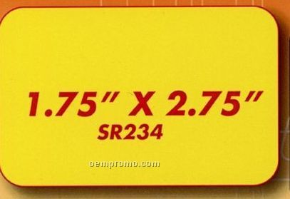 Rectangle Button With Round Corners