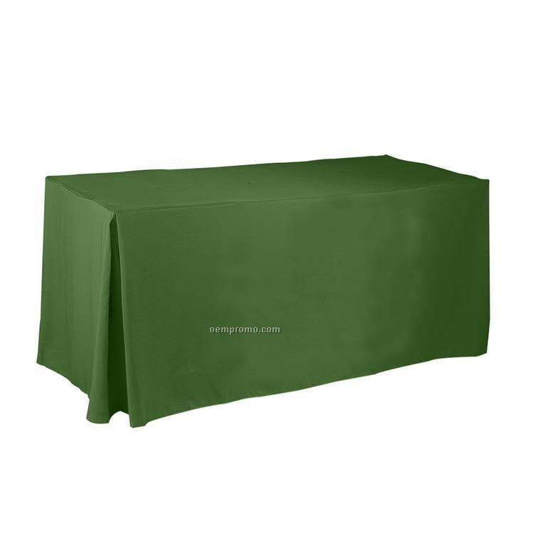 Recycled Polyester Fitted Tablecloth With Pleats 30 Quot X96