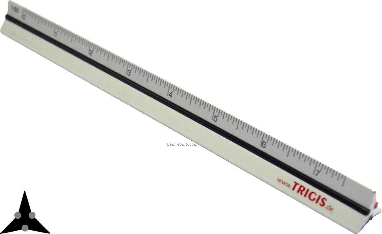 Aluminum Pocket Triangle Scale 6''