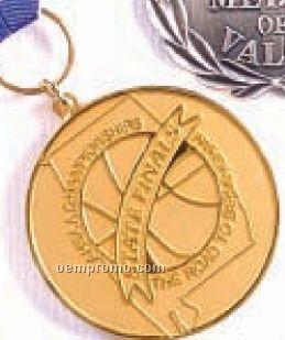 """Die Cast Medallion/ Coin (2-d Die/ 1 1/4"""")"""