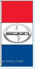 Double Face Dealer Interceptor Drape Flags - Scion