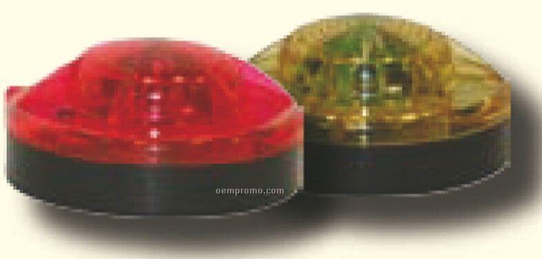 Red Flare Alert Emergency Road Light