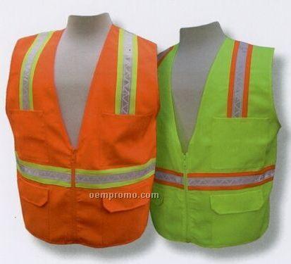 3a Multi Pocket Surveyor's Safety Vest
