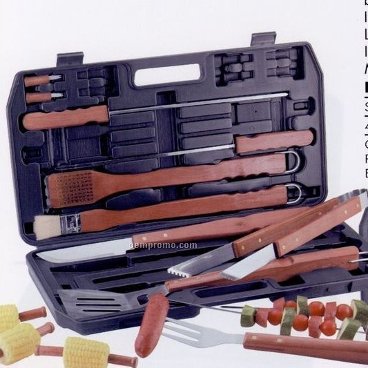 Chefmaster 19-piece Barbecue Set (Standard Service)