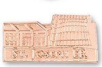 """Die Struck Sandblast Lapel Pins (1 1/4"""")"""