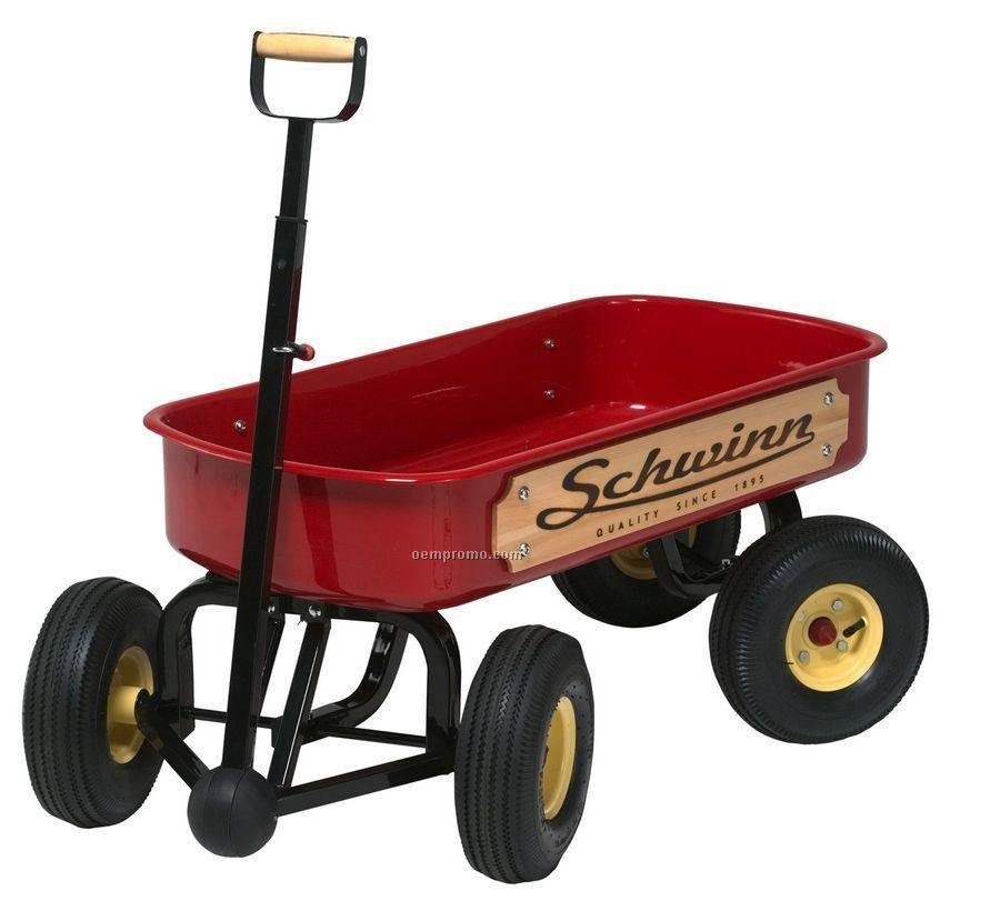 Schwinn Quad Steer Wagon