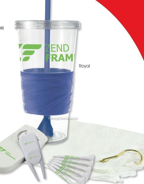 24 Oz. Revolution Golf Kit W/ Authoritee Golf Balls