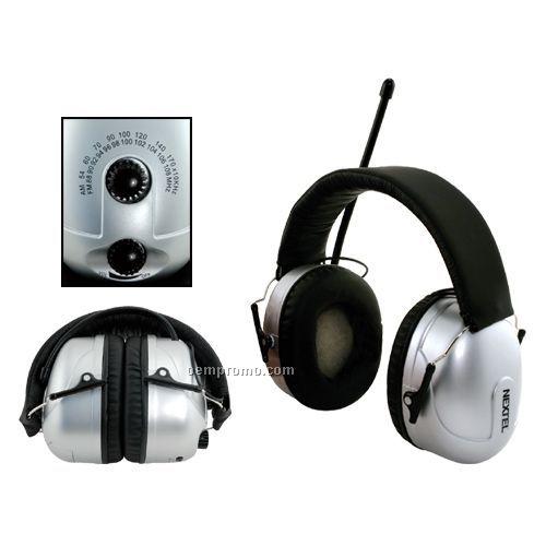 AM/ FM Radio Noise Blocking Stereo Headphones