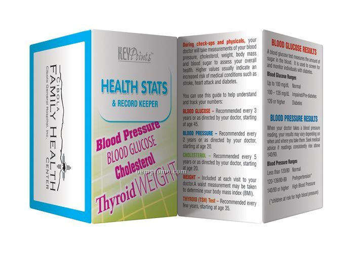 Key Points Brochure - Health Stats & Record Keeper