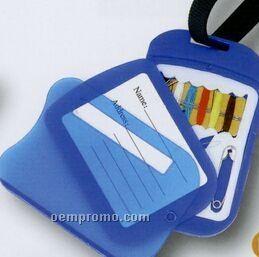 Luggage Tag W/ Sewing Kit