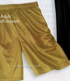 Sport-tek Youth Mesh Shorts (Xs-xl)