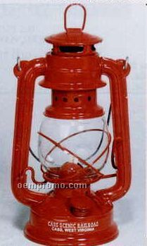 "11"" Metal Railroad Lantern"