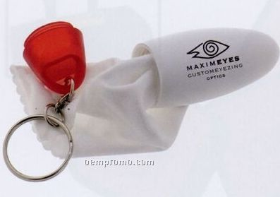 Eye Glass Cleaner Keychain (7-12 Days)