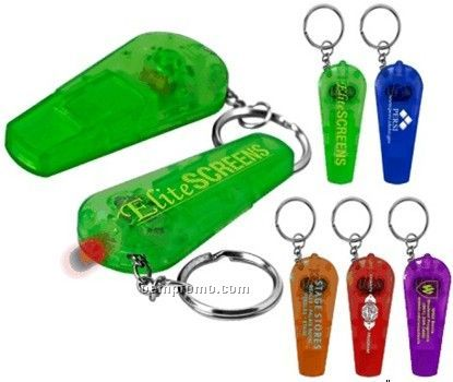 Whistle Light Key Tag