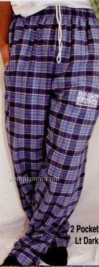 Adult Flannel Lounge Bottom Pants (3xl)