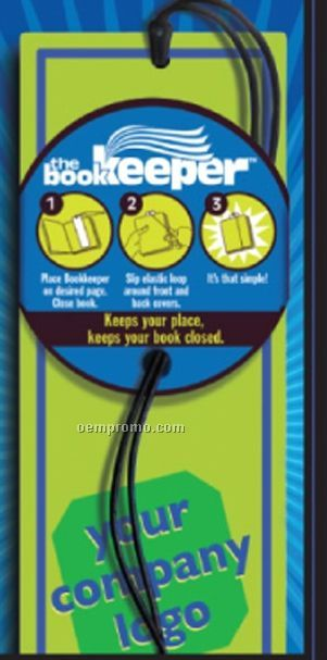 Book Lover's Bookmark (Spot Color)