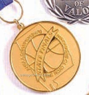 """Die Cast Medallion/ Coin (2-d Die/ 1 3/4"""")"""