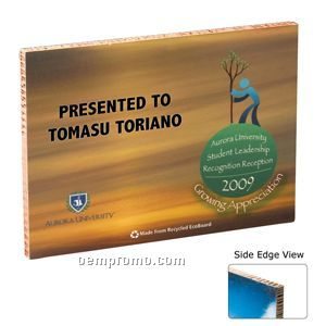 "Ecoboard Award Plaque (8""X10""X1"")"