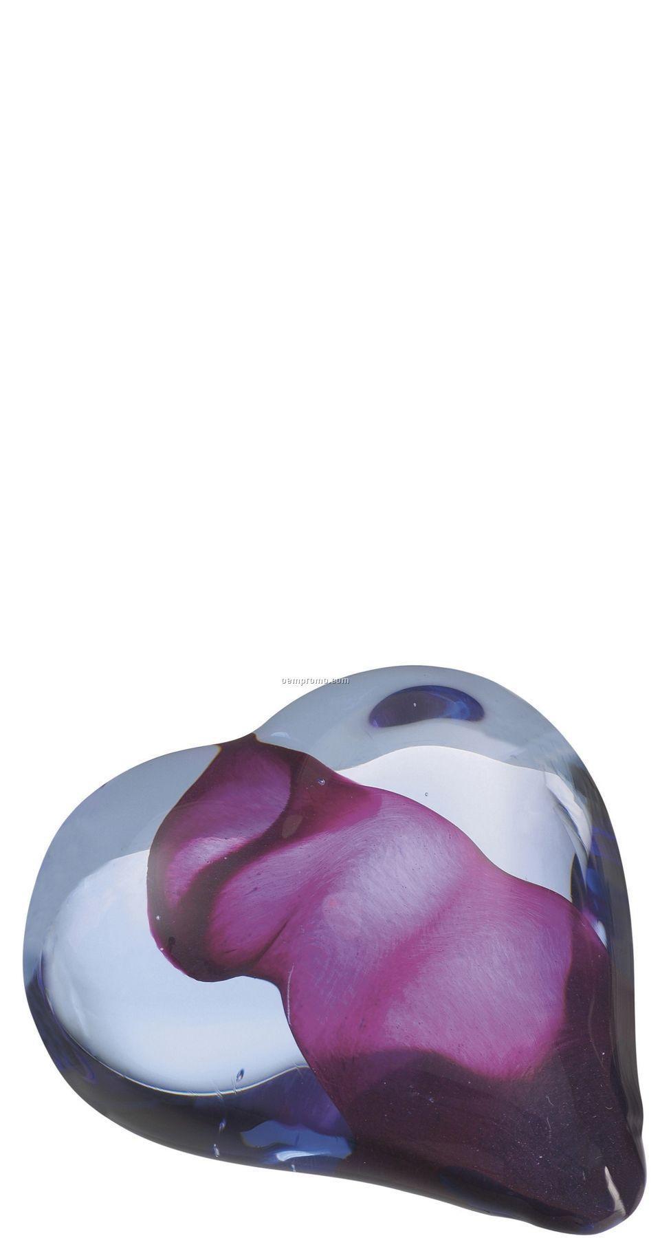 Heartbeat Glass Sculpture By Bertil Vallien