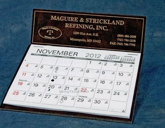 Marquis Nu-leth-r Desk Calendar (January - April)