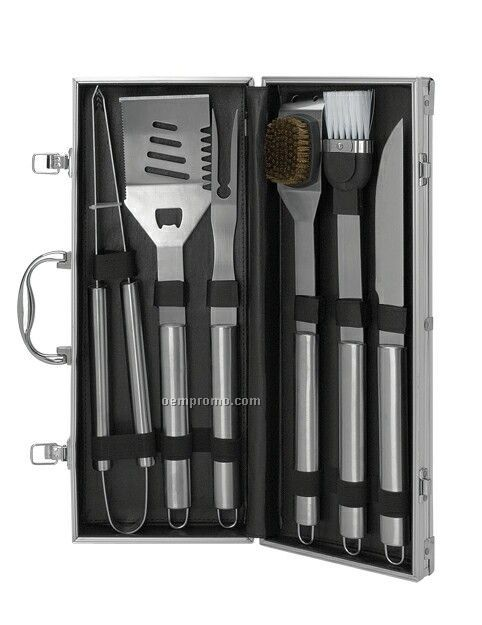 6 Piece Barbecue Set