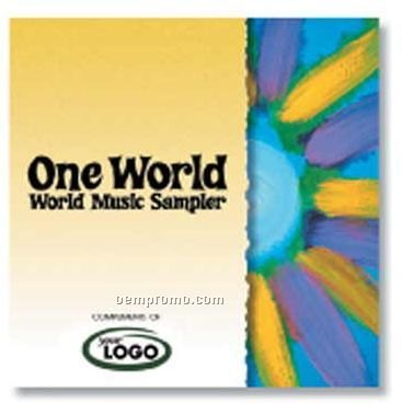 One World Music Sampler Compact Disc In Jewel Case/ 12 Songs