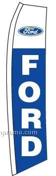 V-t Swooper Kit W/ Ground Spike & Stock Ford Flag