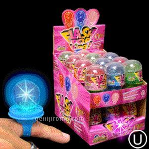 Light Up Ring Candy Pop - Flashing LED