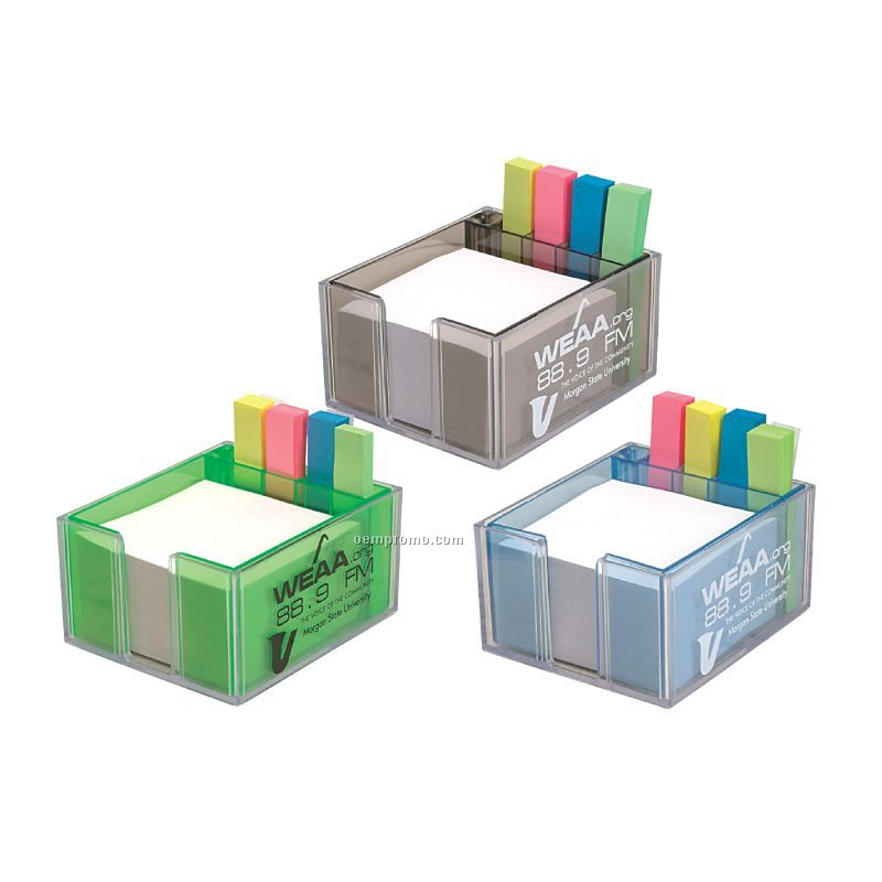 Paper Tray W/Sticky Note Indexes