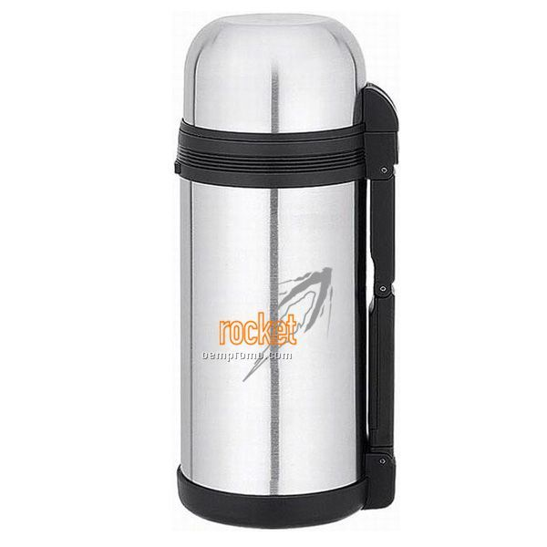 50 oz stainless steel thermal bottle with push button pour spout china wholesale 50 oz. Black Bedroom Furniture Sets. Home Design Ideas