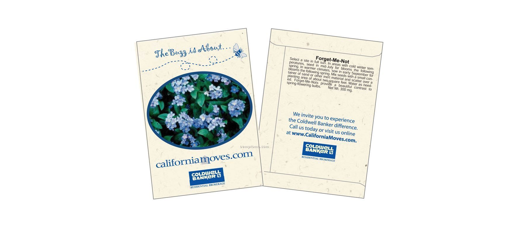 Forget-me-not Seed Packet (1 Color)