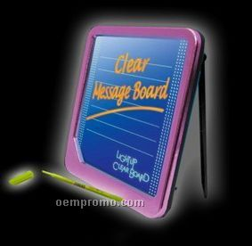 LED Illuminated Message Board For Promotion/A6 LED Writing Board
