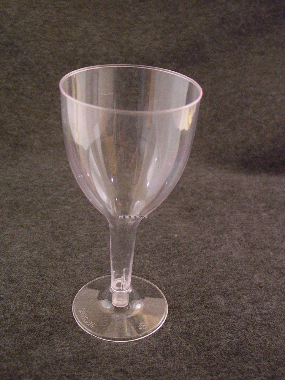 5 Oz. Plastic Tulip Wine Goblets
