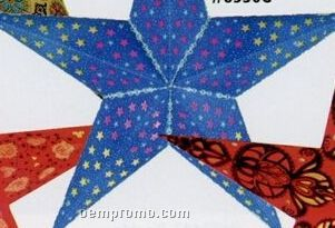 Hand-made Indian Star Shade Lantern (Blue)